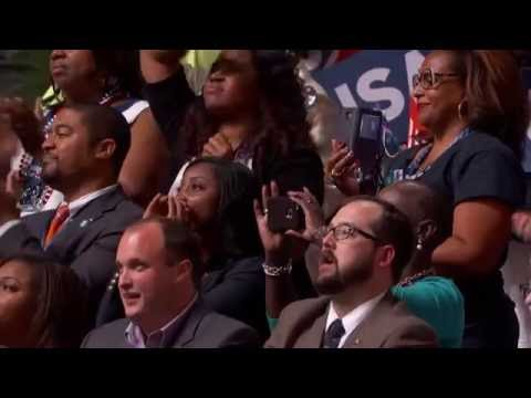 Dr. William Barber speaks at the Democratic Convention, 2016