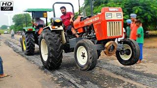 फसमा मुकाबला Swaraj 855 turbo vs john deere 5310 tractor tochan