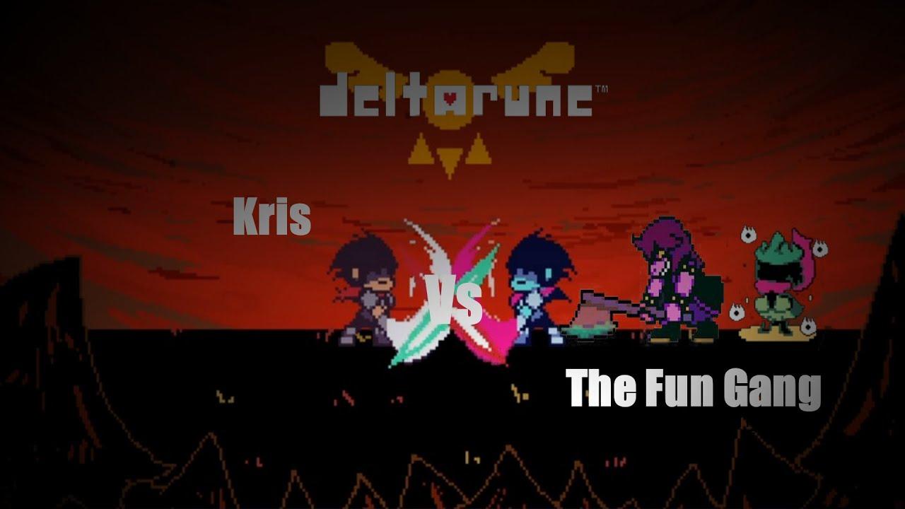 Vs. The Fun Gang | Deltarune Fangame | Bad+Good Ending