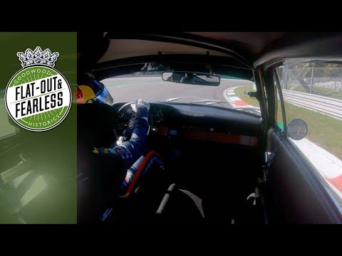 Sliding a 2.0-litre Porsche 911 sideways round Monza | Andrew Jordan on board