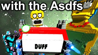 Space Engineers Multiplayer - with the Asdfs