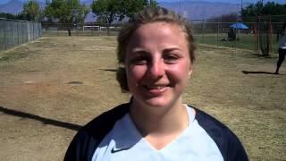 Megan Hanke talks about arizona trip