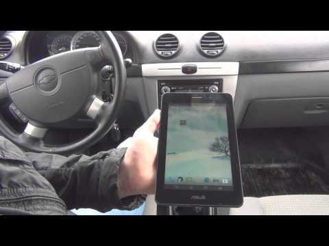 Сканер для авто OBD II подключение к планшету с программой Torque
