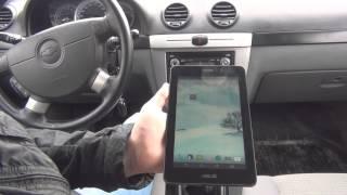 Сканер для авто OBD II + підключення до планшета з програмою Torque