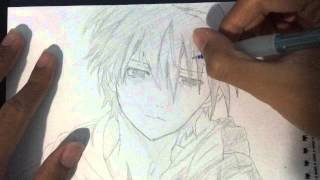 Drawing Ouma Shu (Guilty Crown)