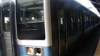 211系 中央本線(中央東線) 上諏訪駅 発車