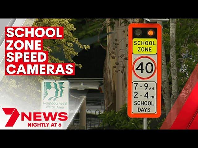 World-first speed camera trial to begin in Queensland school zones | 7NEWS