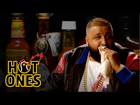 DJ Khaled Talks Fuccbois, Finga Licking, and Media Dinosaurs While Eating Spicy Wings | Hot Ones