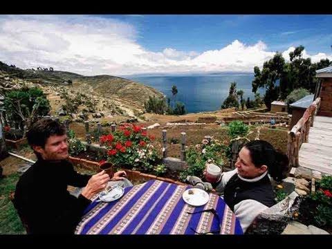 Andean Paradise, Isla del Sol, Lake Titicaca; Bolivia