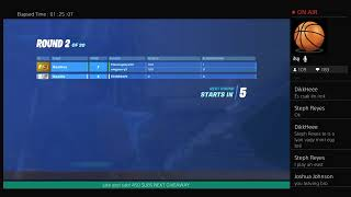 FORTNITE LIVE Arena\\wagers type !epic in chat to join next giveaway at 450 subs