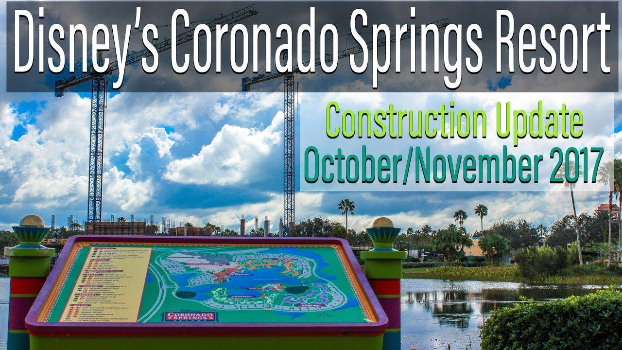 Disney S Coronado Springs Resort Construction Update October