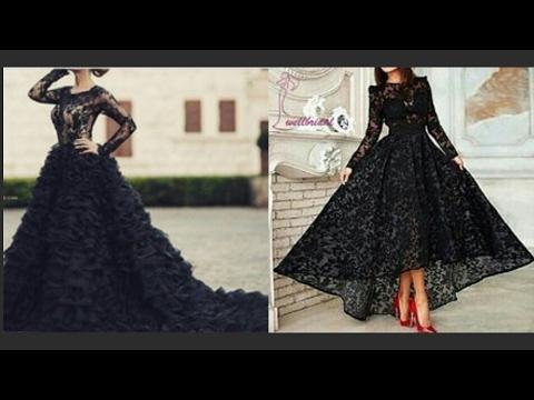 Hermosos vestidos negros/beautiful black dresses