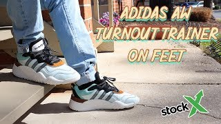Adidas AW Turnout Trainer On Feet - YouTube