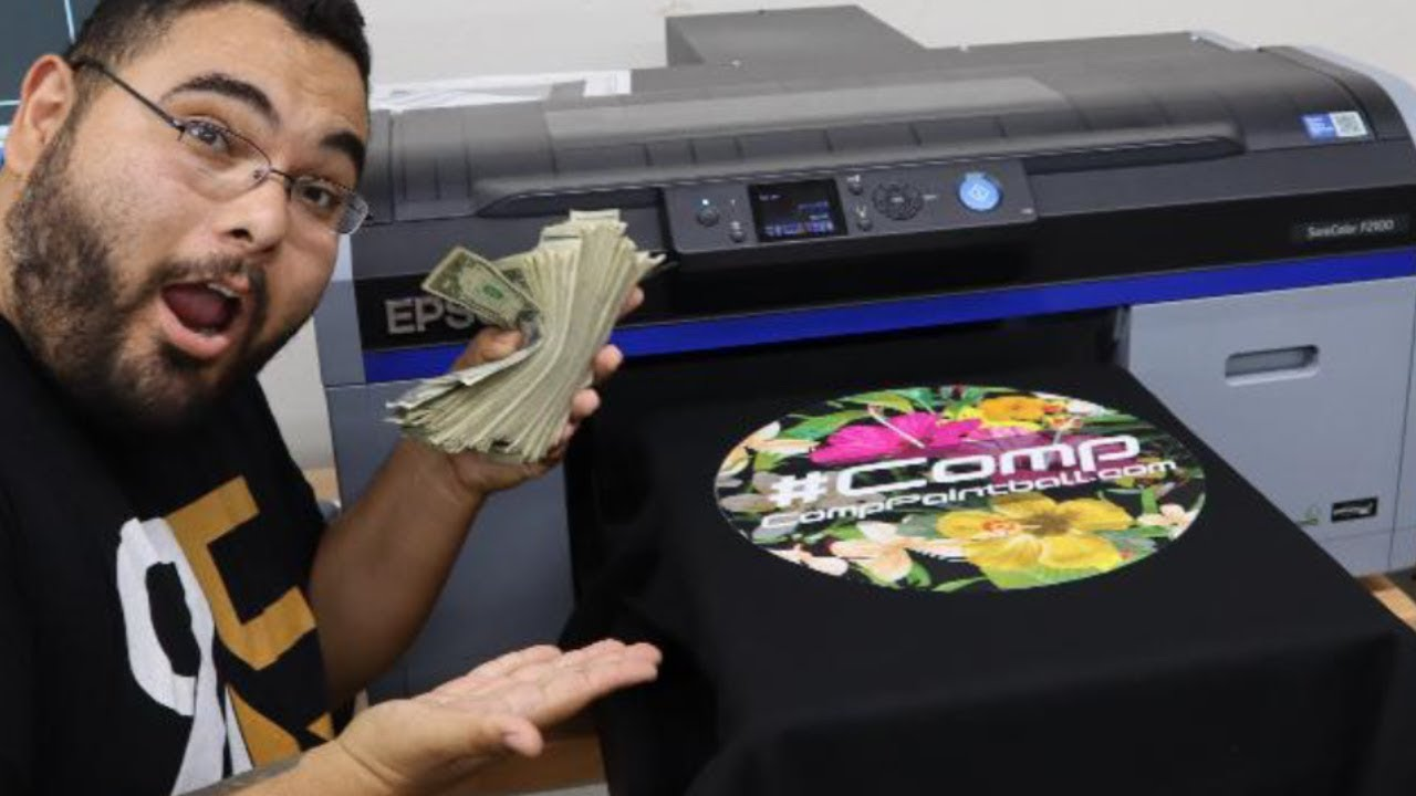 Will This 18 000 Dtg Printer Take Over The T Shirt Printing Business Youtube