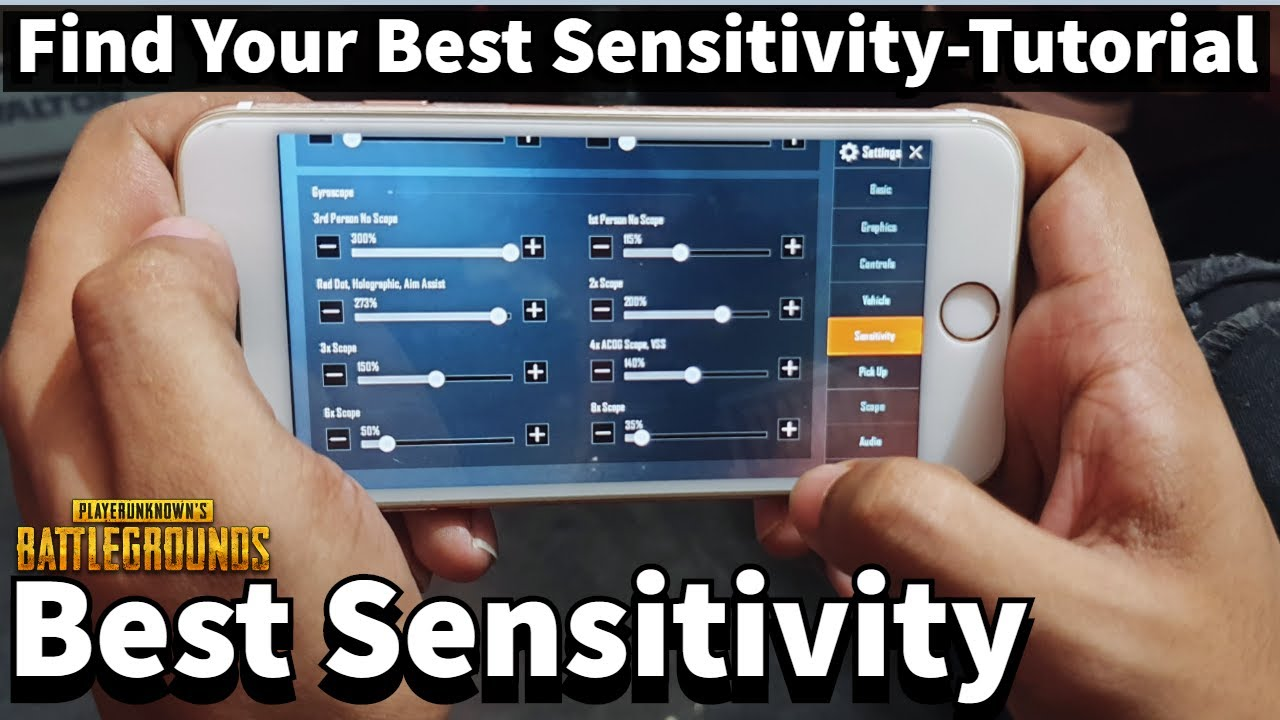 Pubg mobile best sensitivity settings for android 2020 | How to Set Your Own Best sensitivity