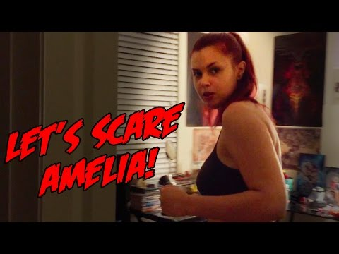 AMELIA GETS SCARED!
