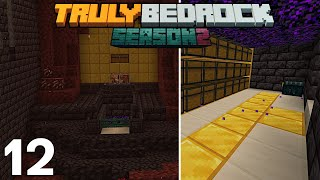8662 GOLD INGOTS/Hour To The Bartering Farm | Truly Bedrock S2 EP12
