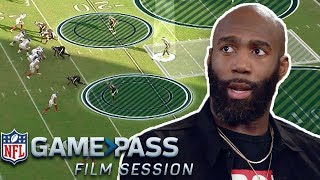 Malcolm Jenkins Breaks Down Guarding Routes, Forcing Fumbles, & Covering the Slot | NFL Film Session
