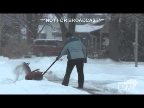2-1-15 Toledo, Ohio Snow / Spinout