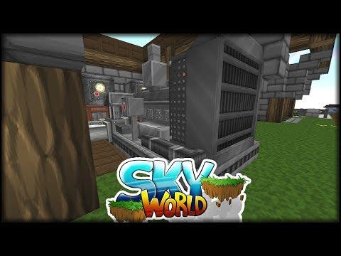Diesel Generator von Immersive Engineering | Minecraft SkyWorld #60