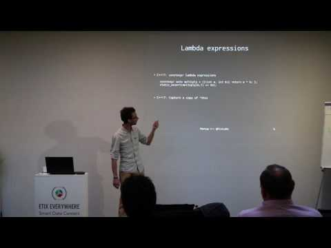 Modern C++ Luxembourg Meetup #1: New features of C++17