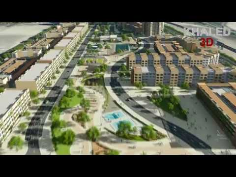 3D Animations_ Residential complex Doha, Qatar