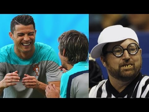Funny Football Referees ⚽️ Most Funny Moments