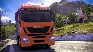 Euro Truck Simulator 2.Прохождение.№2 обучение.Кредиты.