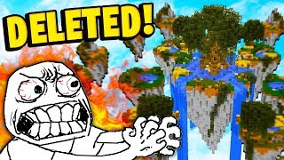 Hypixel FINALLY removed this INFAMOUS Minecraft Skywars map...