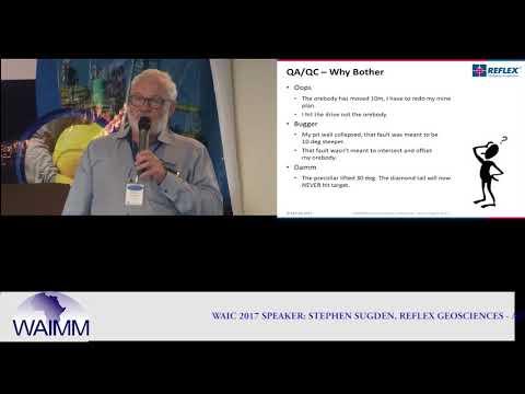 WAIC 2017 Presentation by Stephen Sugden, Principal Geoscientist, REFLEX Geosciences, Australia