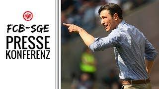 Pressekonferenz vor FCB - SGE | Eintracht Frankfurt