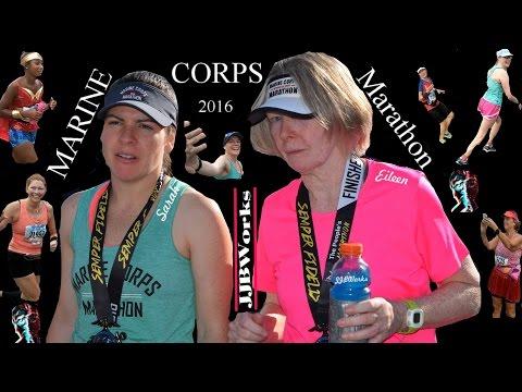 The 41st Marine Corps Marathon in Washington DC October 2016