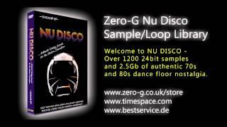 NU DISCO - ZERO G SAMPLE-LOOP LIBRARY