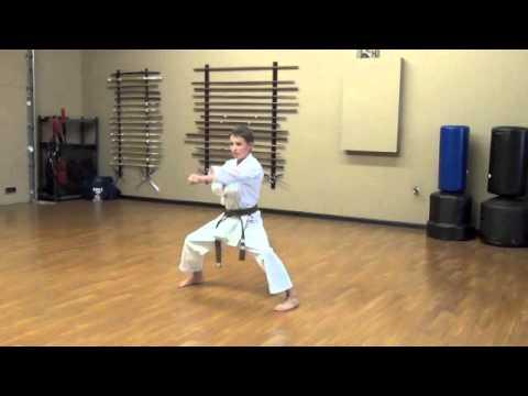 Lincoln Budokan, Tekki Sandan Kenkojuku Shotokan Karate