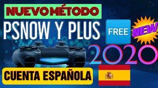 🆕NUEVO ✔️MÉTODO PSNOW Y PLUS🆓ESPAÑA PARA TODO EL MUNDO 2020
