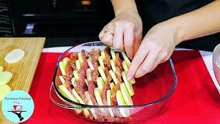Как из банального мяса и картофеля приготовить Вкусное Блюдо на ОБЕД УЖИН или Праздничный Стол