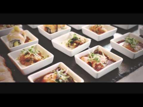 Sushi Buffet på lilleasia. Lunsjfest