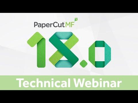 PaperCut 18 - Introducing Job Ticketing | Technical Webinar