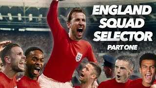 ENGLAND WORLD CUP SQUAD SELECTOR |