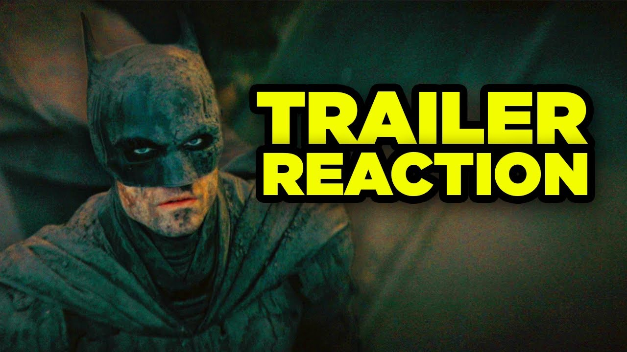 THE BATMAN TRAILER Reaction! Riddler Plan & First Thoughts!