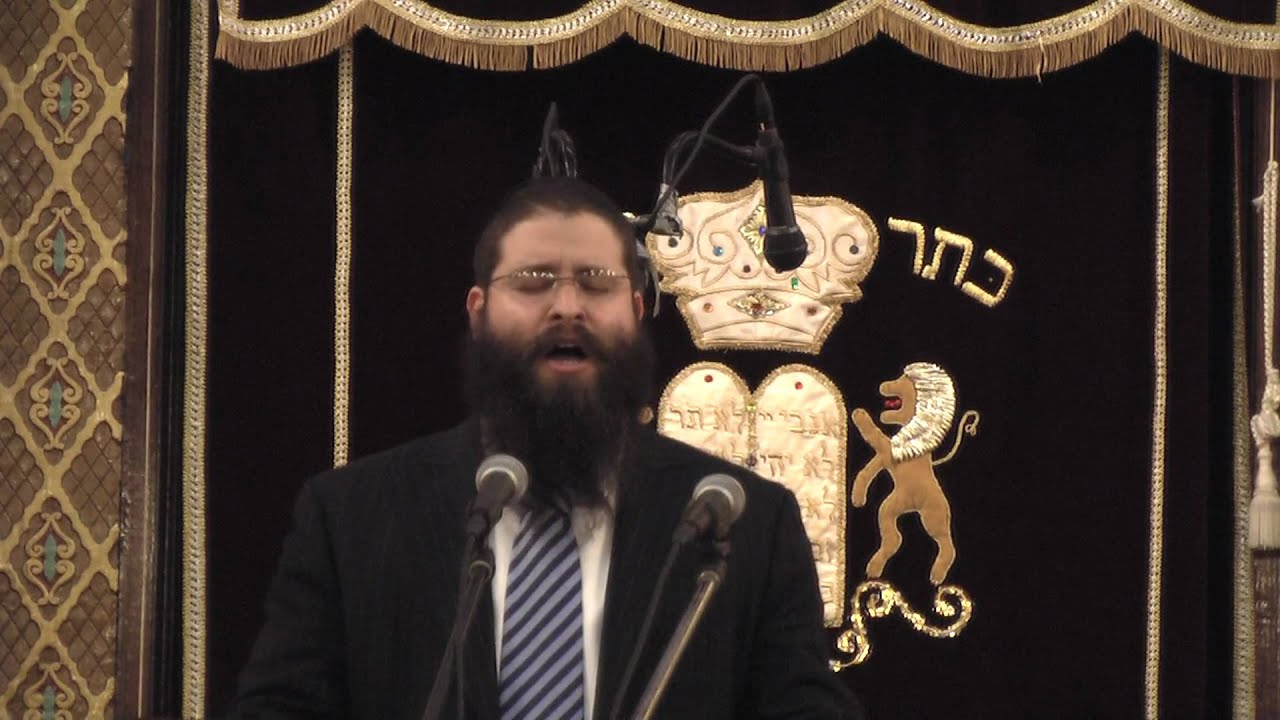 "Cantorial Concert: Berel Zucker Singing ""Tal"" (Watch in HD !!!) 4"