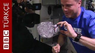 Astronotlar uzayda su ile oynarsa ne olur? - BBC TÜRKÇE