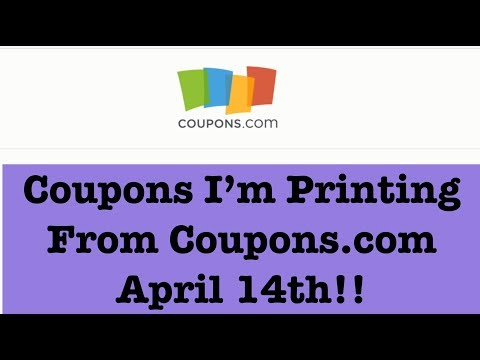 Coupons to Print from Coupons.com for Extreme Couponing |April 14th