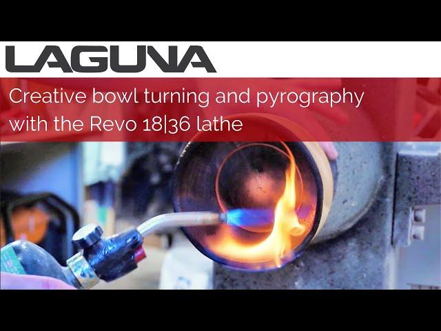 Creative woodturning with epoxy and pyrography | Laguna Tools