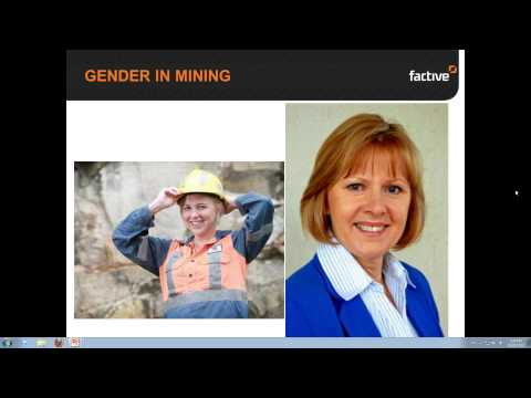 "Gender in Mining. ""So you think you're tough..."""