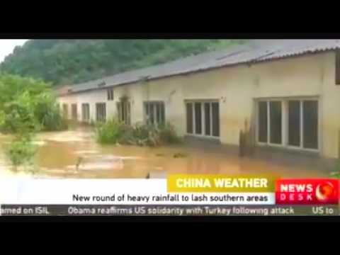 More Heavy rain is coming to southern china