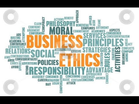 Business Ethics Lecture/Lesson/Definition: An Introduction and History Lesson