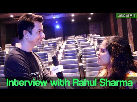 Interview with Rahul Sharma ( Micromax ) - GIZBOT