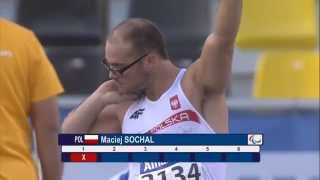 Men's shot put F32 | final |  2015 IPC Athletics World Championships Doha