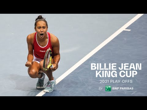 Billie Jean King Cup play-offs | Serbia vs Canada